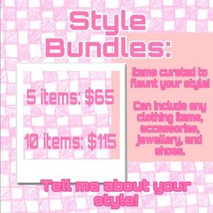 Style bundles now available!
